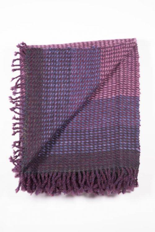 Purple Blanket - RainShadow Fiber Studio | Twisted Strait Fibers