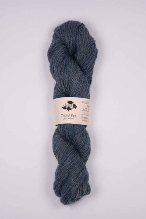 Blue Faced Leicester X with Llama Skein - Thistlehill Farm | Twisted Strait Fibers