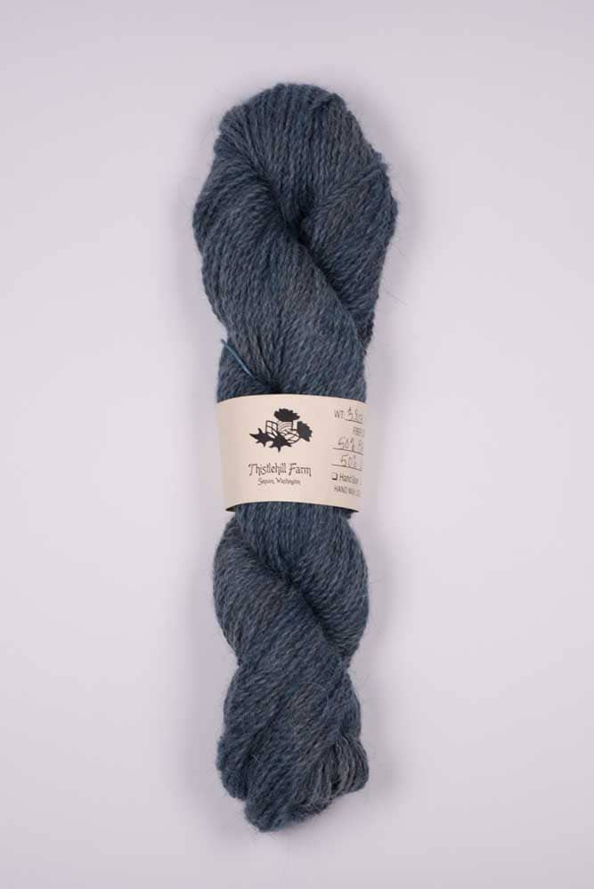 Blue Faced Leicester X with Llama Skein - Thistlehill Farm   Twisted Strait Fibers