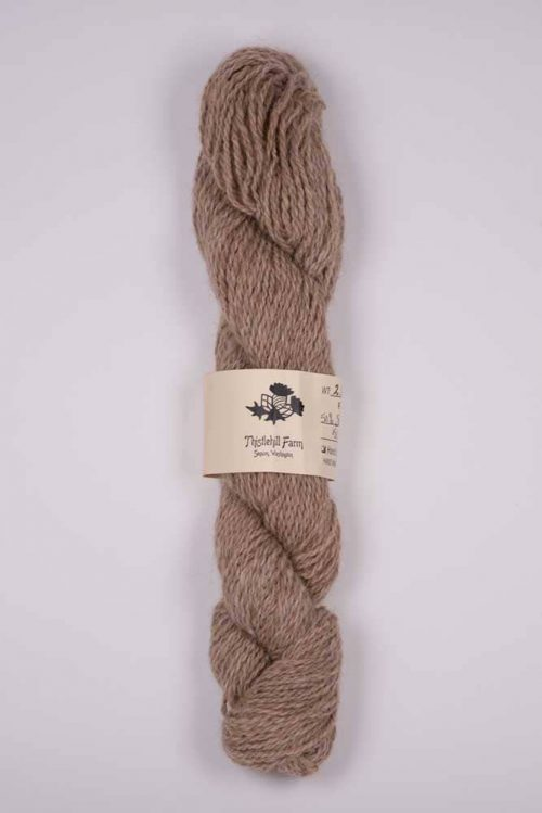 Shetland and Alpaca Skein - Thistlehill Farm | Twisted Strait Fibers