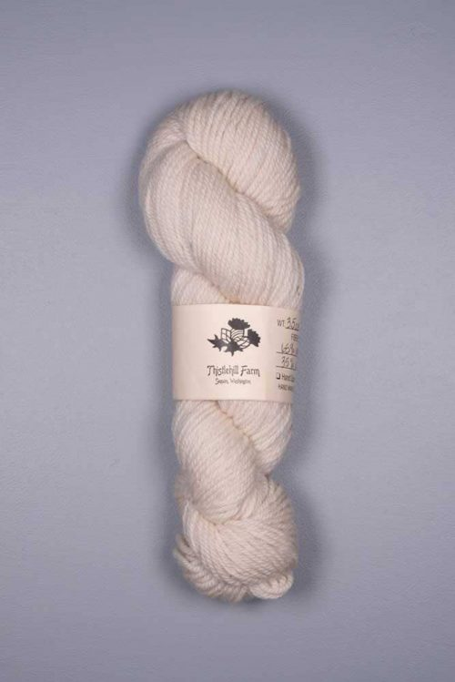 Fine Wool and Alpaca Skein - Thistlehill Farm | Twisted Strait Fibers