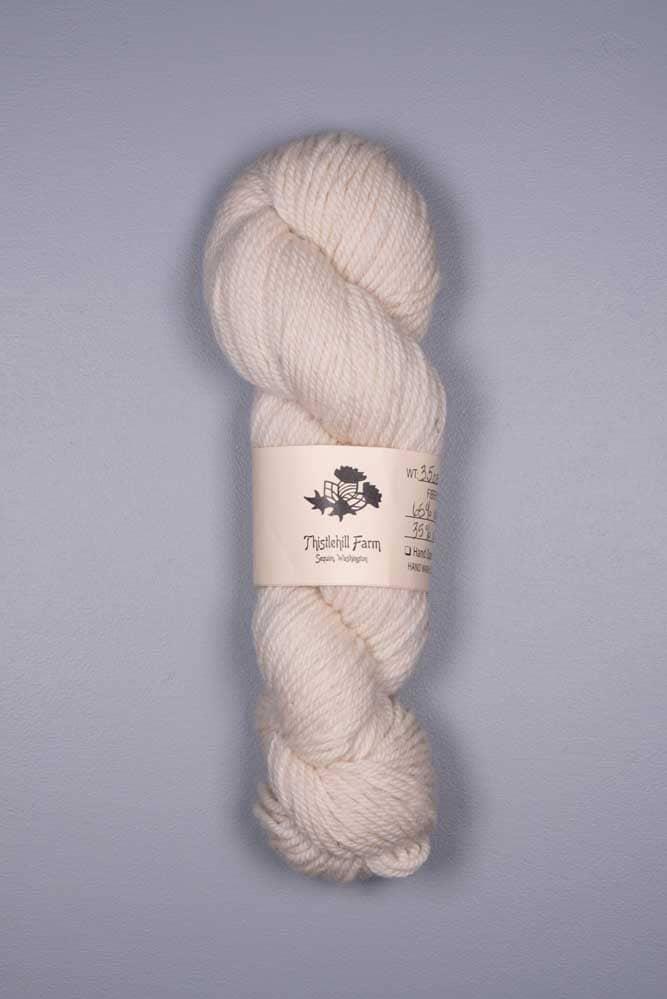 Fine Wool and Alpaca Skein - Thistlehill Farm | Twisted Strait Fibers