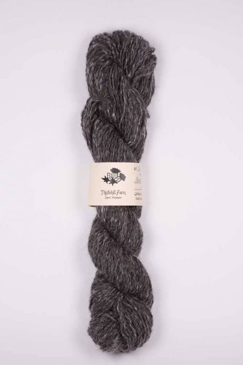 Shetland and Angora Skein - Thistlehill Farm | Twisted Strait Fibers