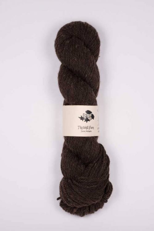 Skein of Polwarth and Alpaca - Thistlehill Farm | Twisted Strait Fibers