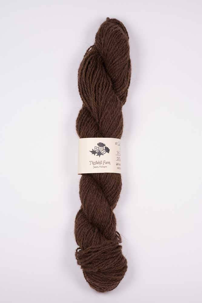 Skein of Shetland and Llama - Thistlehill Farm | Twisted Strait Fibers