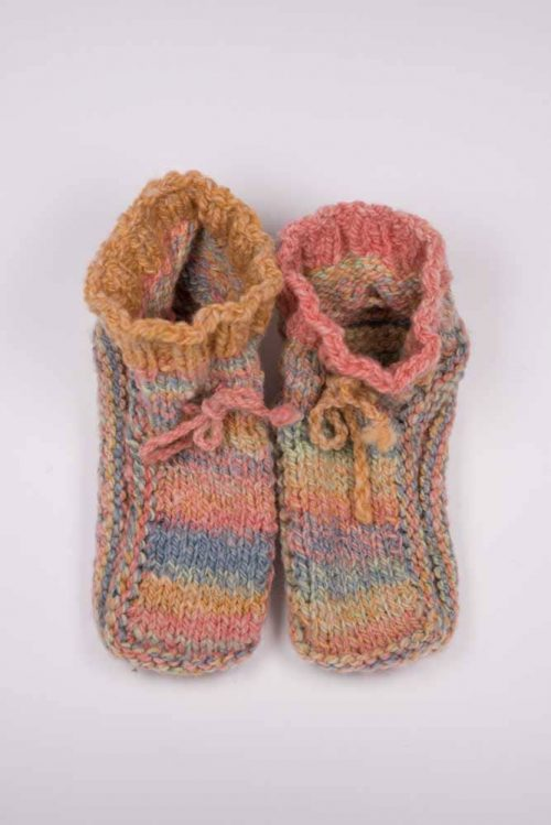 Children's Slippers - Thistlehill Farm | Twisted Strait Fibers