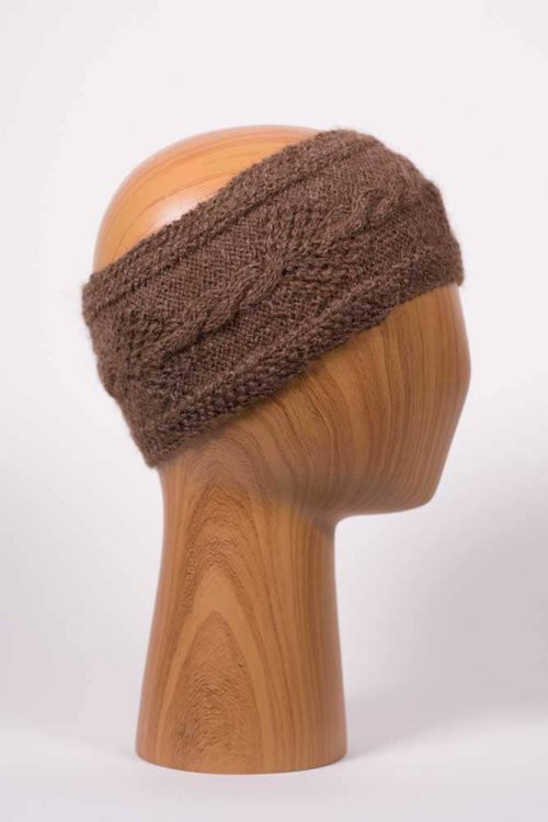 Brown Headband - Thistlehill Farm | Twisted Strait Fibers