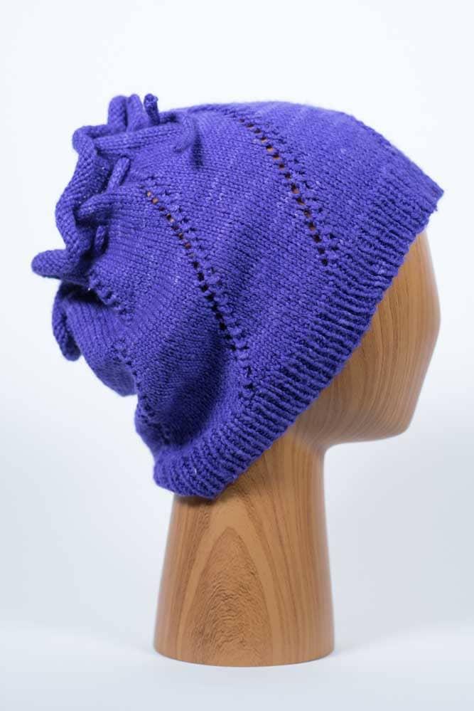 Purple Cowl - Thistlehill Farm | Twisted Strait Fibers