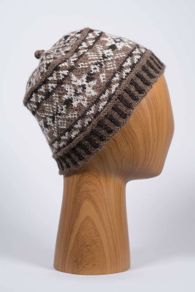 Traditional Fair Isle Wool Hat - Thistlehill Farm | Twisted Strait Fibers