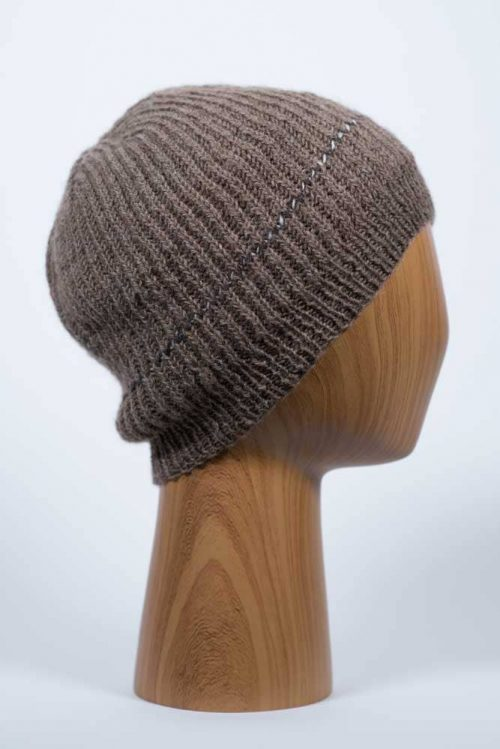 Lightweight Brown Hat - Thistlehill Farm | Twisted Strait Fibers