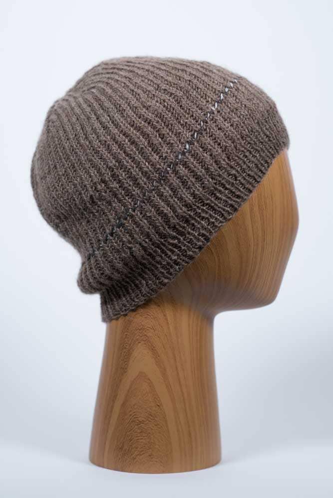Lightweight Brown Hat - Thistlehill Farm | Twisted Strait Fibers