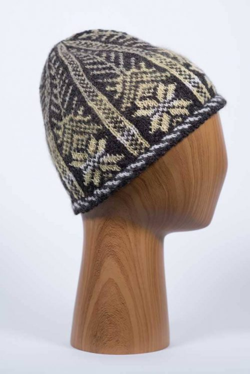 Natural Dyed Fair Isle Hat - Thistlehill Farm | Twisted Strait Fibers