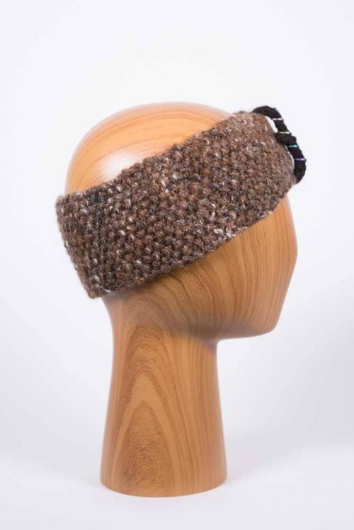 Natural Color Headband - Thistlehill Farm | Twisted Strait Fibers