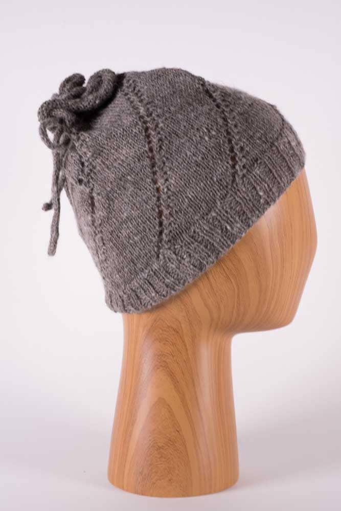 Pony Tail Hat - Thistlehill Farm   Twisted Strait Fibers